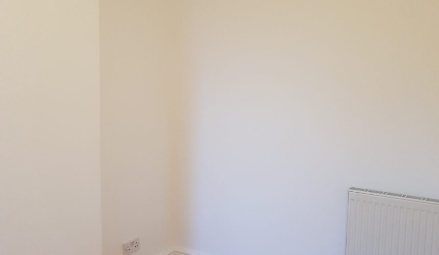 Painted bedroom in purley