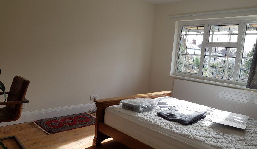 Bedroom painted in sanderstead south croydon
