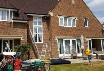 House Exterior painted by Select Decorators
