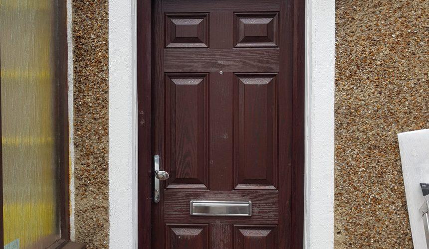 uPVC Front Door Sprayed In Croydon