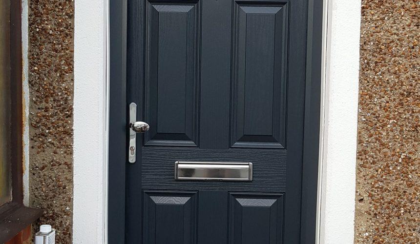 uPVC Front Door Sprayed In Woldingham