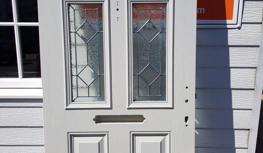 uPVC front door sprayed in East Grinstead