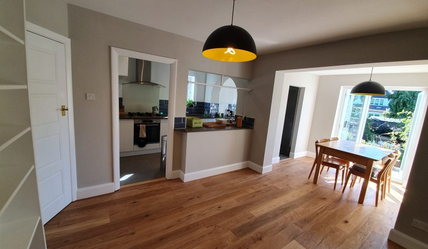 decorating to dining area/kitchen in Epsom