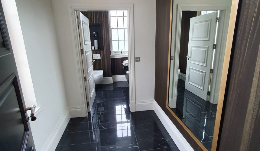 Professional finish to new build development in Kent